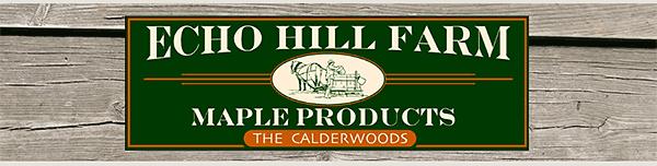 Echo Hill Farm Craftsbury VT